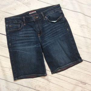 Tommy Hilfiger Womens Denim Shorts Size 6 Blue